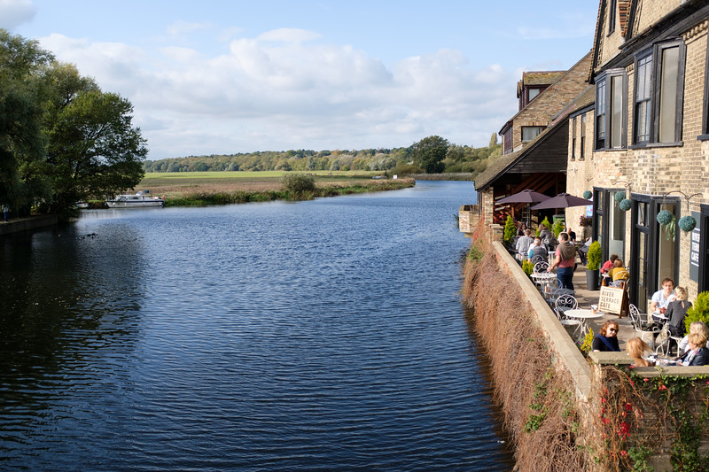 River Terrace Cafe in St Ives, Cambridgeshire