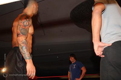 DGUSA 3/30/12 - Johnny Gargano & Chuck Taylor confront CIMA & Ricochet