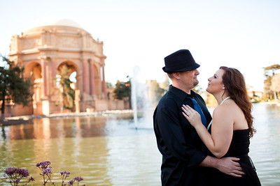 2010-09-26 Engagement Photos: Palace of Fine Arts
