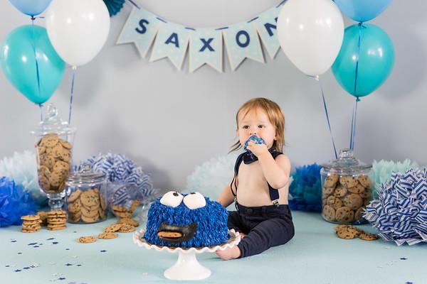 Saxon turns one
