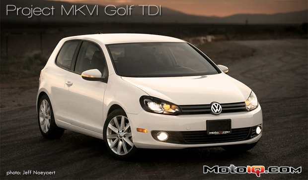 MotoIQ Project Golf MKVI TDI