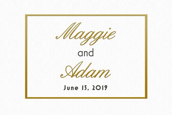 Maggie & Adam 2019