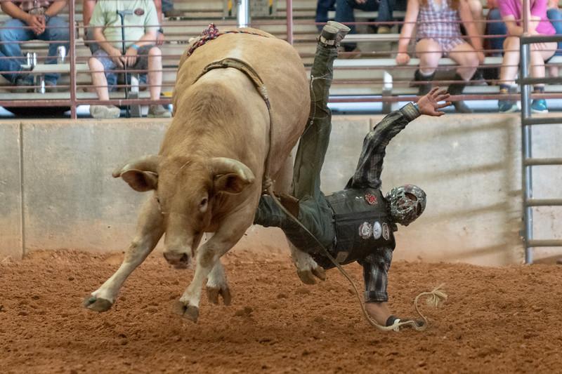 Bailey Kay Hutson Bull Riding, 2018