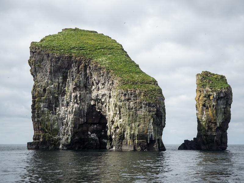 Drangarnir rock formations