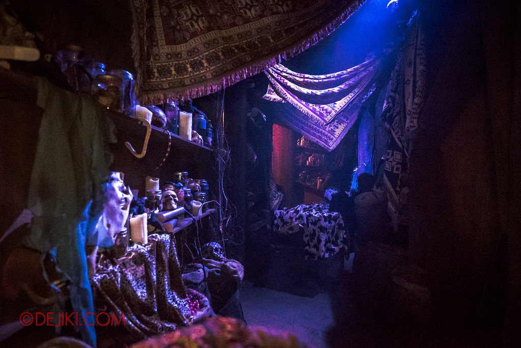 Halloween Horror Nights 7 Behind the Scenes: A Tour Inside HEX haunted house, carpets and relics