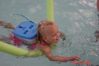 2005 Alyssa & Stephanie Swim Class