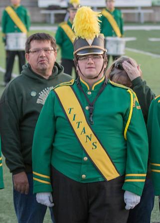 2017-10-20 Senior Band Photos