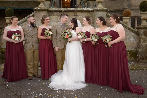 Weston Hall Wedding Photographer - Adrian Chell