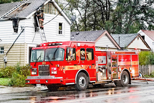 October 24, 2011 - 2nd Alarm - 2487 Gerrard St. East