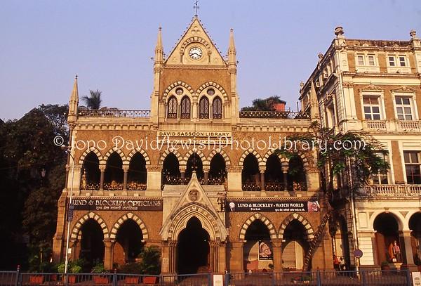 INDIA, Mumbai (Bombay). David Sassoon Library and Reading Room, 1847. (2009)