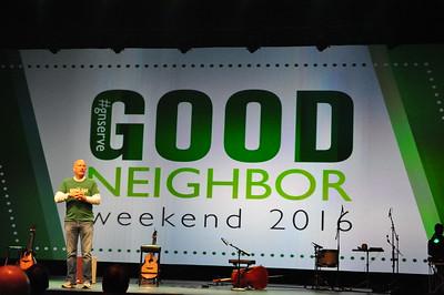 2016-10-16 - Good Neighbor Weekend