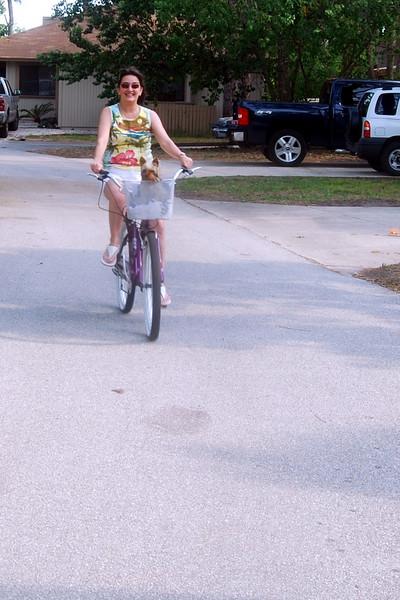029 Jewels and Lisa on bike.jpg
