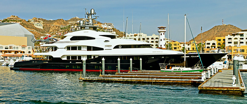 Luxury Yacht Attessa in Cabo San Lucas, Mexico