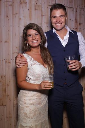 Jenny and Matt's Wedding Mirror Booth 2018
