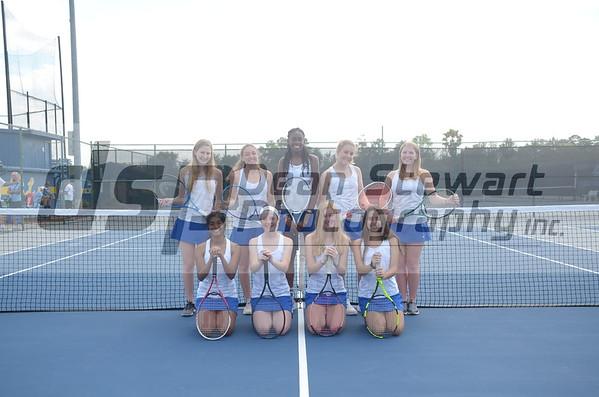 Girls Tennis Team Photo 3/4/20