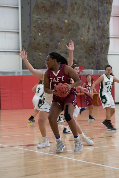 1/10/18: Girls' Varsity Basketball v Deerfield
