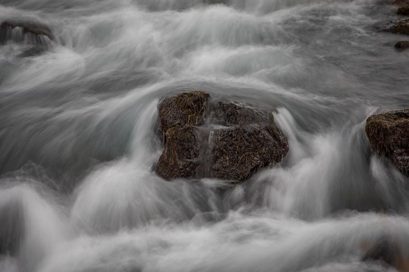 """Minimal Scene"" at Highway Waterfall"
