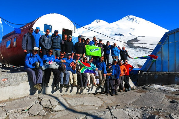 Mt Elbrus 2013 Climb to Fight Breast Cancer