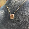 'Joys I Double, Sorrows I Divide' 18kt Rose Gold Cast Pendant, by Seal & Scribe 24