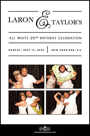 Laron & Taylor's 25th Birthday (prints)