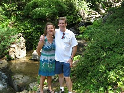 Arkansas 2013: Hot Springs (Rob, Kirsten, Owen, Liam, Fox, Kathy, Stevie and Barb)