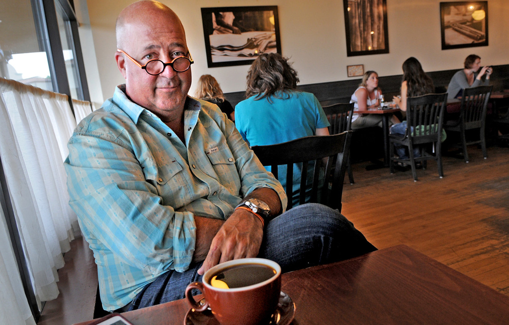 . Andrew Zimmern moved to Minnesota where he went to Hazelden Treatment Center for alcohol and drug addiction treatment. said. Although he eventually moved to Edina, Zimmern believes in a sort of St. Paul magic. �You find hundreds, maybe thousands, of people who all tell you, �Stick around! Why leave something that�s working?� That just feeds on itself in a miraculous and delightful way.�  (Pioneer Press: Jean Pieri)