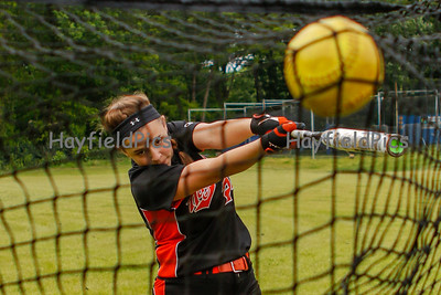 Varsity Softball Pre-Game Warmup 5/18/16
