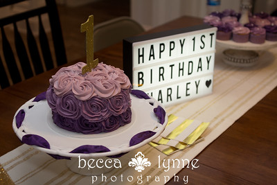 charley's 1st birthday