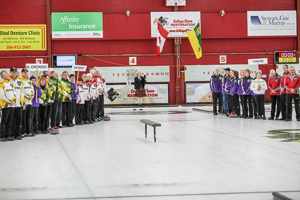 Opening Ceremonies 2019 Canadian Curling MAsters