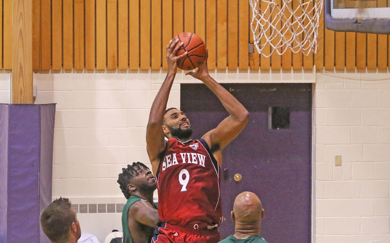 Jersey Shore Basketball League in Belmar, NJ on 7/2/19.