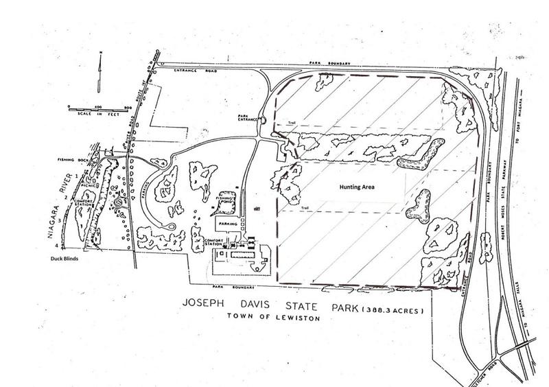 Joseph Davis State Park (Hunting Map)