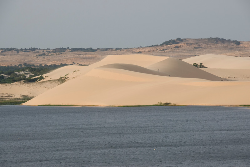 The beautiful white sand dunes - Mui Ne, Vietnam