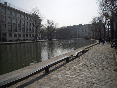 Saint Martin Canal, Paris