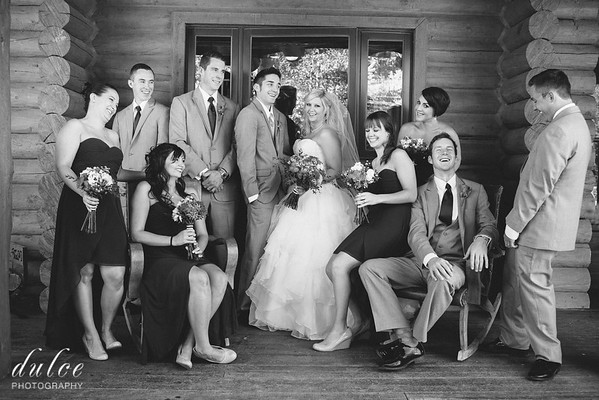 Family and Bridal Party Portraits
