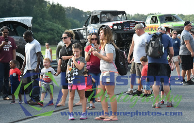 Delaware International Speedway Monster Truck Show August 16, 2017