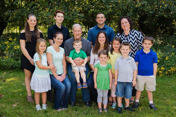 Joe Timmons Family 2017