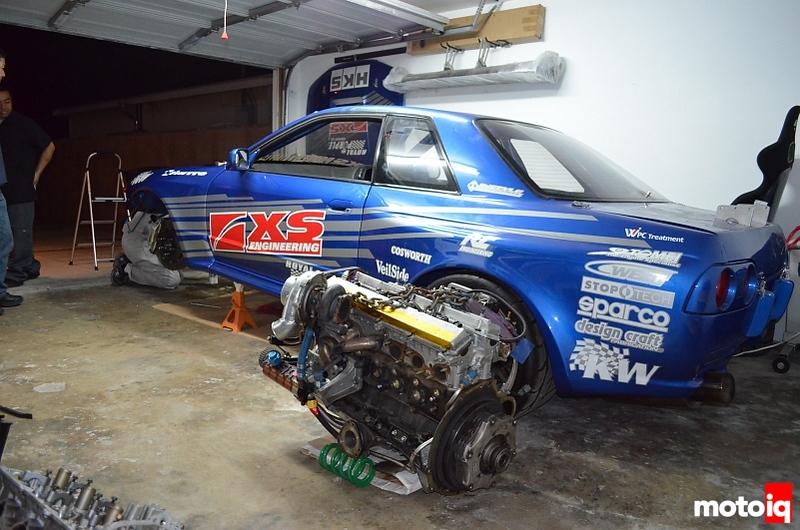 ark bnr32 engine out