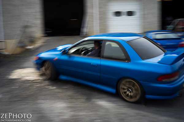 Becca's STi swapped 2.5RS - 04/14