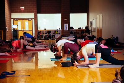 2016 Spring Reading Day Hip Hop Yoga Flow