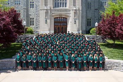 Class of 2018 Group Photo in Regalia