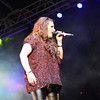Gibraltar - Sam Bailey brings tears to the crowds in Gibraltar's Casemates