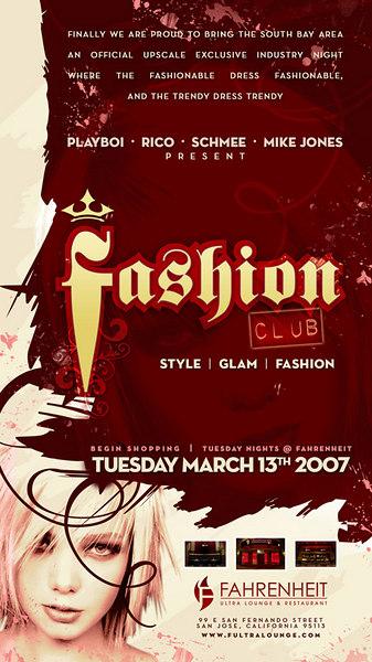 Fashion Club @ Fahrenheit 3.13.07