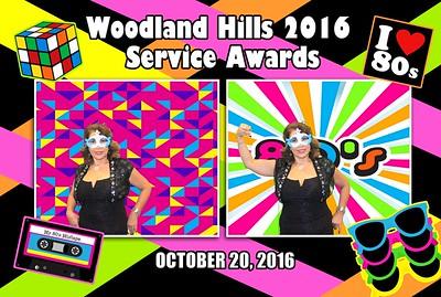 Woodland Hill 2016 Service Awards