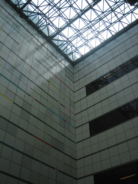 Here-There by Kenneth Noland. M.I.T. Campus