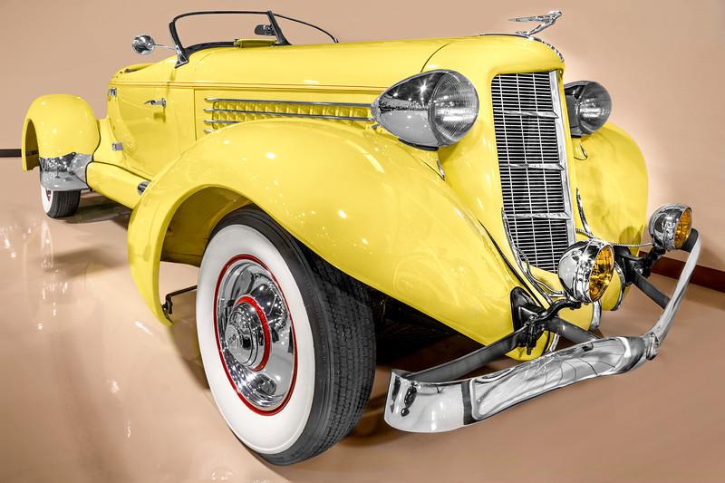 1935 Auburn Boattail Speedster.