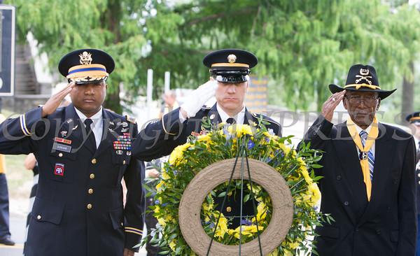 Buffalo Soldiers Memorial 2014