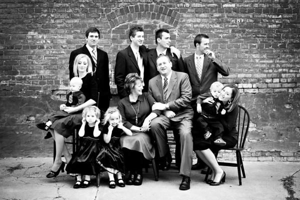 Harding Family 29 Dec 2009