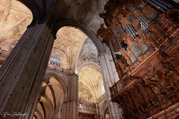 Sevilla Cathedral and Giralda