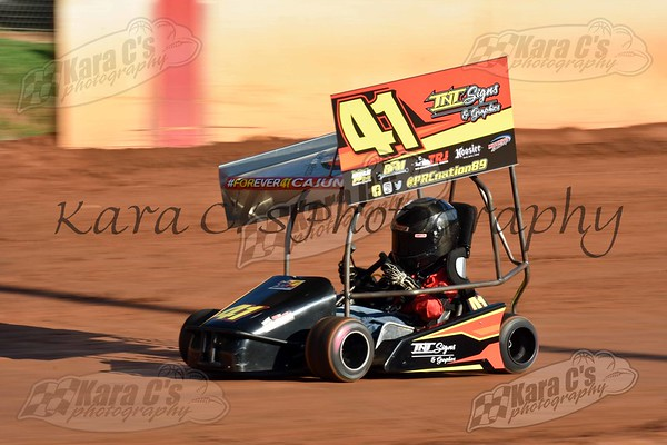 2018-07-04 House of Fireworks Outlaw Kart Night
