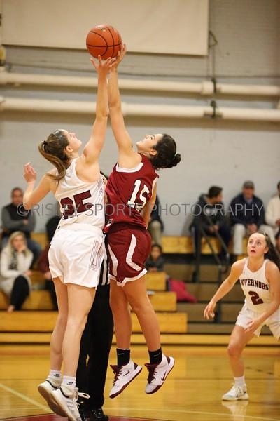 Girls Varsity Basketball vs. Govs- December 11, 2019